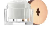 I tried Charlotte Tilbury's Magic Cream and it gave me an instant glow