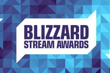 Cast your vote in the Blizzard Stream Awards