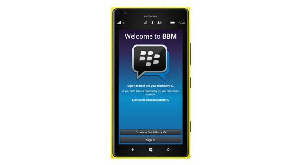 BBM coming to Windows Phones this summer