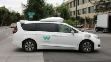 Waymo self-driving taxi confused by traffic cones flees help