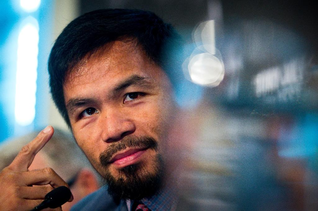 Manny Pacquiao says he heard Conor McGregor was willing to fight him after the Irish mixed martial artist's foray into boxing