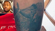 Dwyane Wade Gets a Martin Luther King Jr. Tattoo Commemorating the March on Washington