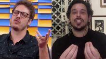 Porchat e João Vicente surpreendem com opinião polêmica sobre sexo