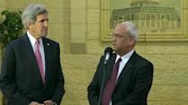 Kerry sees progress on Israeli-Palestinian framework deal