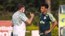 Palmeiras encerra preparação para o clássico; veja provável time titular