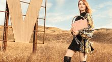 EXCLUSIVE: Emma Stone Hits California Desert in First Vuitton Campaign