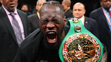 Deontay Wilder is the man boxing has waited for