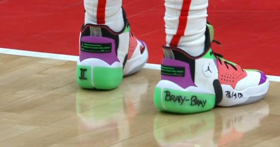 Bradley Beal Oğullarının Adlarını Ayakkabılarına Yazdırdı
