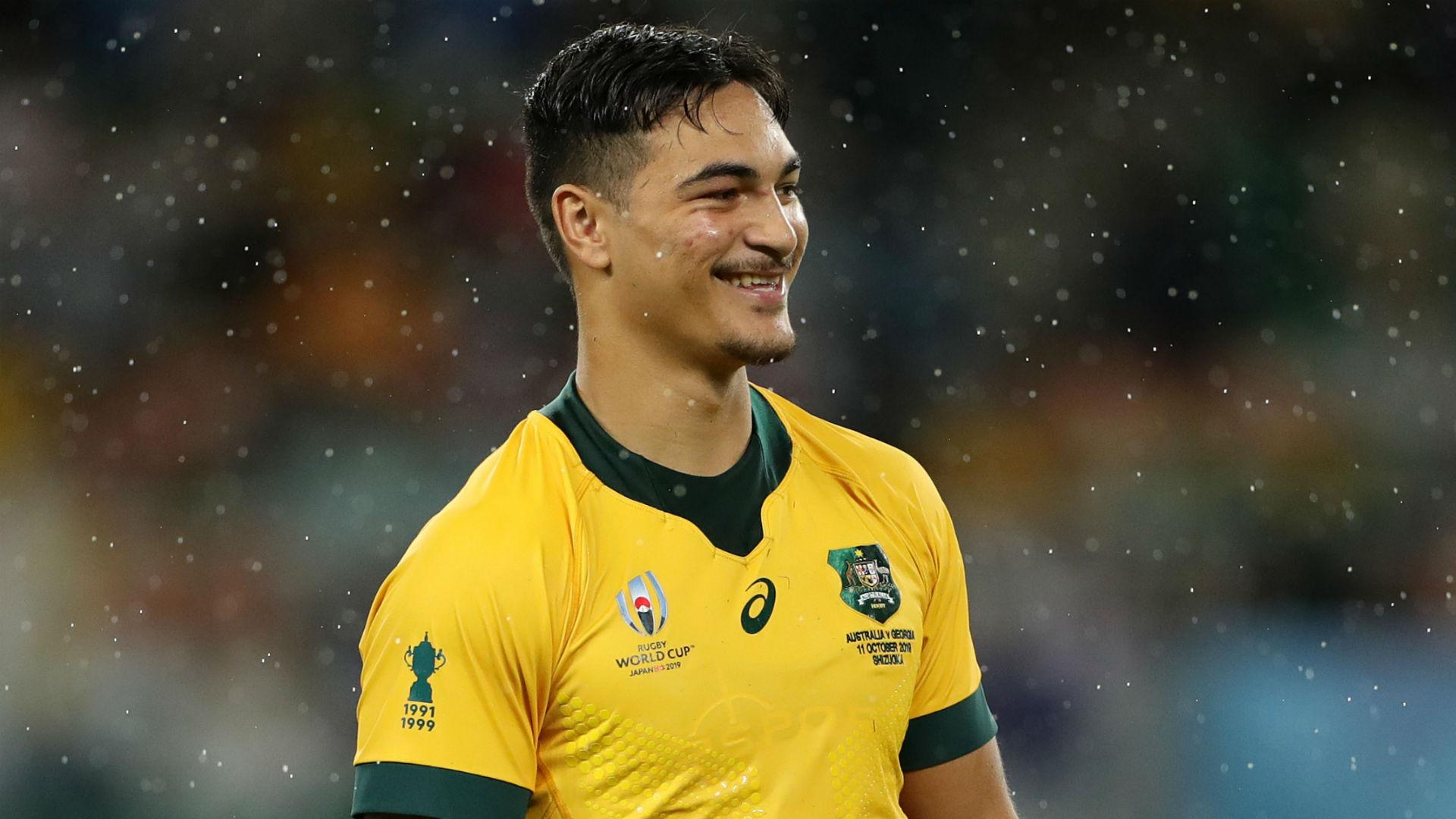 Rugby World Cup 2019 Wallabies Teenager Petaia To Face England At Centre