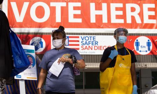 California 'shattering prior election returns' with 6m ballots already cast
