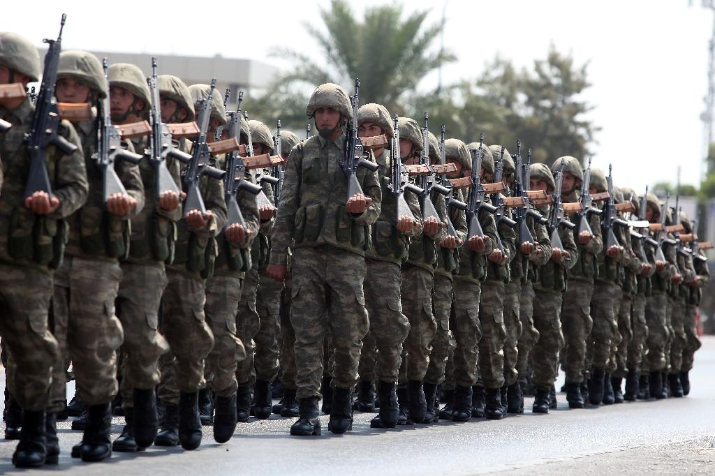 Turkey has more than 30,000 soldiers deployed in northern Cyprus, which remains a deeply divisive issue (AFP Photo/)