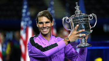 Champion Nadal battles to win his 4th US Open