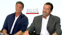 Arnold Schwarzenegger And Sylvester Stallone Talk Facing Off In 'Escape Plan'