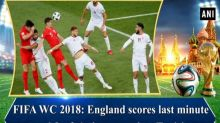 FIFA WC 2018: England scores last minute goal for 2-1 victory against Tunisia