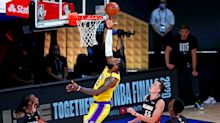 LeBron James and Anthony Davis carry LA Lakers back to beat Miami Heat and take 3-1 NBA Finals lead