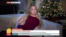 Mariah Carey entrevistada sobre asesinatos de Las Vegas en vivo