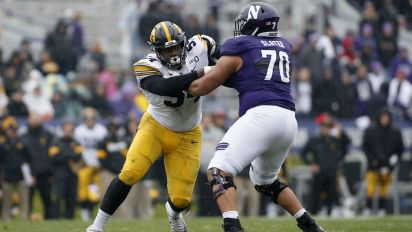 Will Northwestern's Slater have to change positions in NFL?