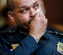 Police officer who was beaten during the Capitol insurrection breaks down in tears during House hearing