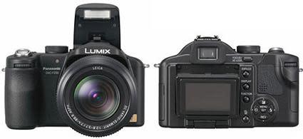 Panasonic's Lumix DMC-FZ50 10 megapixel shooter