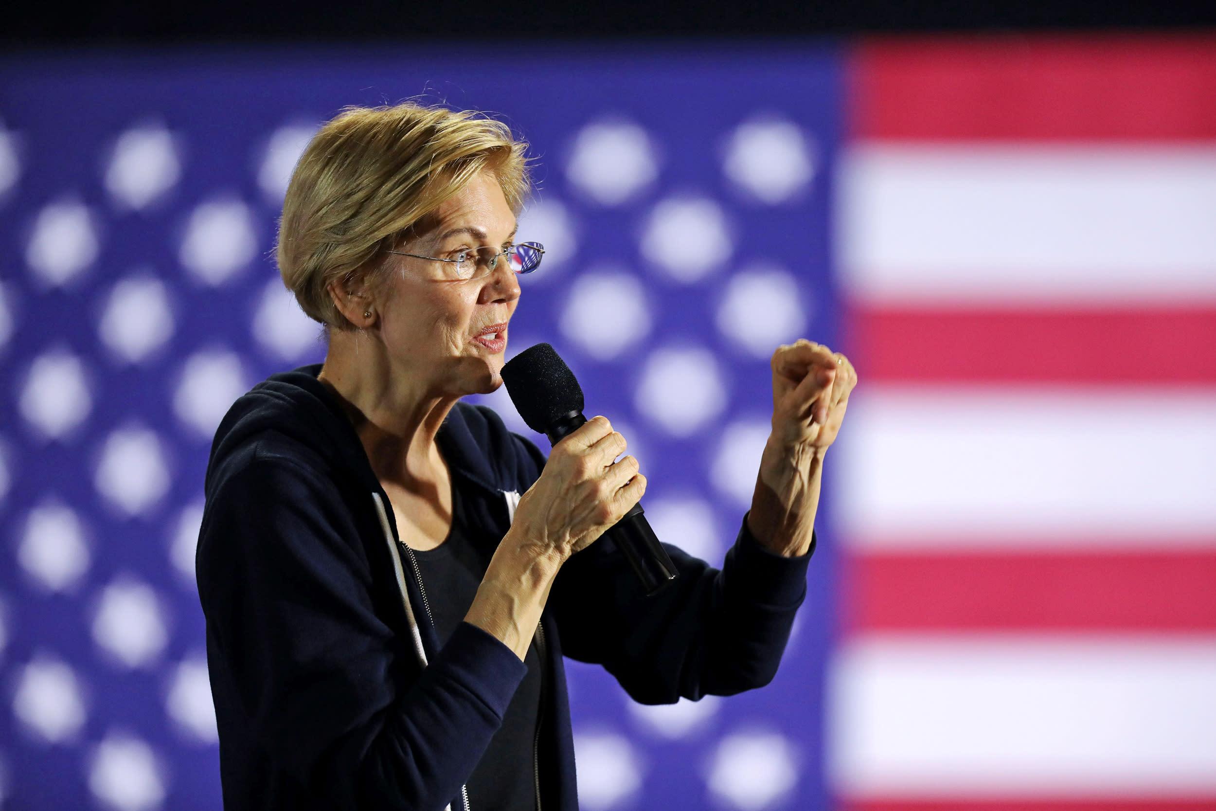 Elizabeth Warren announces plan to help low-income, diverse Asian American communities