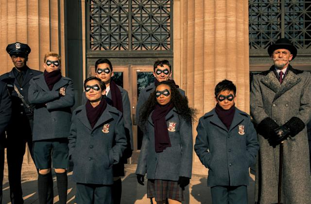 Netflix's 'Umbrella Academy' trailer showcases an offbeat superhero saga