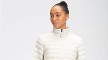 Women's windproof and weather-resistant jackets are on sale for up to 30% off at The North Face