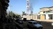 Taliban attack entry to Afghan presidential palace