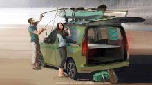 Volkswagen Mini-Camper: Erste Bilder des neuen Reise-Caddy