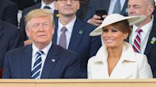 Melania Trump wears hat by Royal Family's favourite milliner for final day of UK state visit
