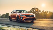 2022 Cadillac CT4-V Blackwing First Drive Review | A magnificent sunset