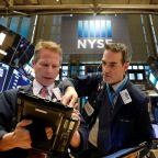 Industrials and energy boost Dow, S&P but Nasdaq skids