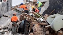Rescue team detects 'pulse' of possible survivor buried under Beirut rubble for 29 days