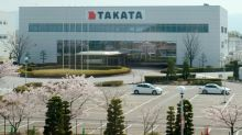 Troubled airbag maker Takata plummets on bankruptcy fears