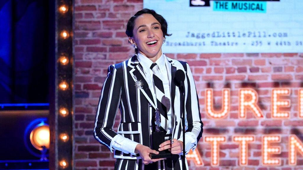 'Jagged Little Pill' Star Lauren Patten's Tony Award Win Ignites Outrage – Yahoo Entertainment