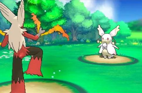A wild Mega Audino appears in Pokemon Ruby, Sapphire remakes