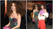 Amal Clooney and Cindy Crawford twin as '70s disco queens for Halloween