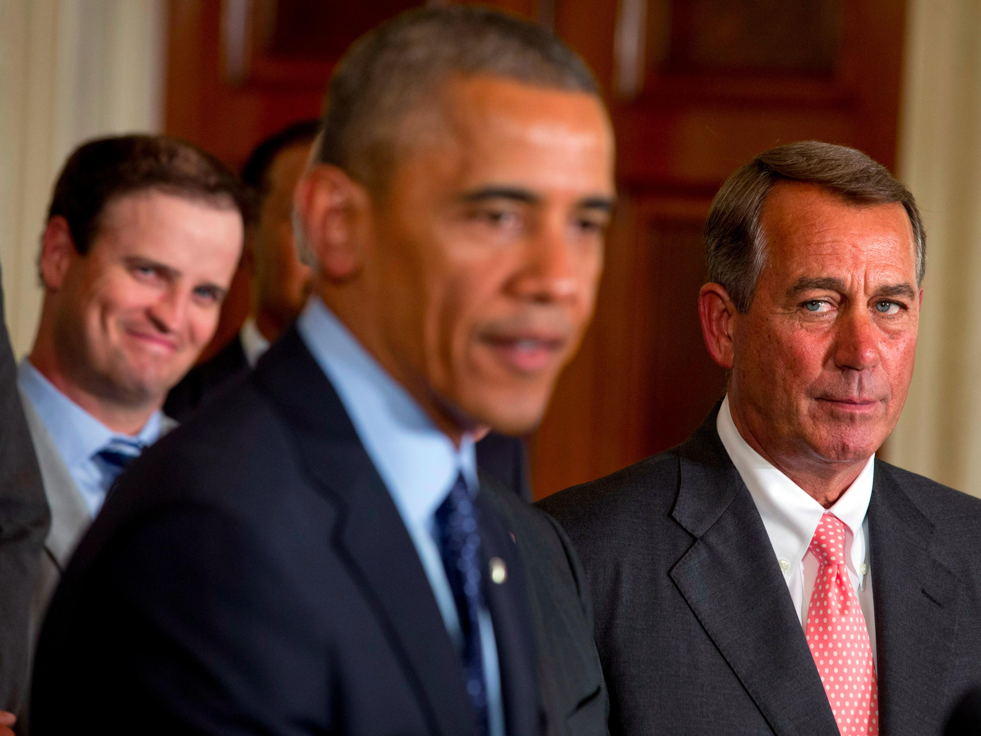 House Republicans just won a major, unexpected victory in a battle with Obama