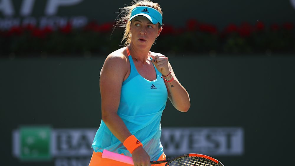 Pavlyuchenkova beats Kerber for fourth Monterrey title