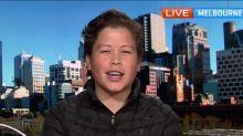 14-year-old Aussie Pokemon master