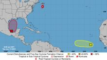 Tropical Storm Bill forms in Atlantic, making it the second named storm of the season