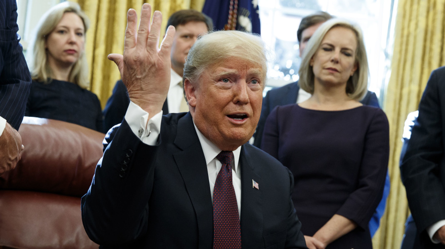 Trump: I answered written questions in Mueller probe