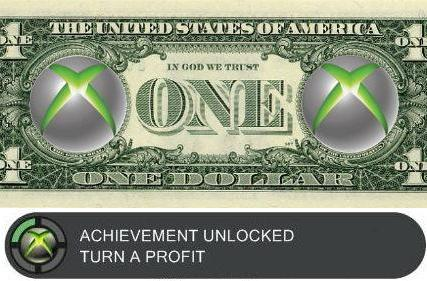The Xbox turns a profit!