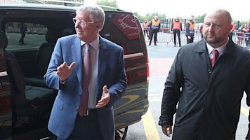 Sir Alex Ferguson returns to Old Trafford