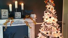 Can't Wait Until Christmas? People Are Decorating Trees for Halloween