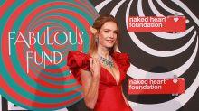 Las orejas de Natalia Vodianova, protagonistas en la Fabulous Fund Fair