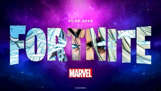 Fortnite Marvel teaser