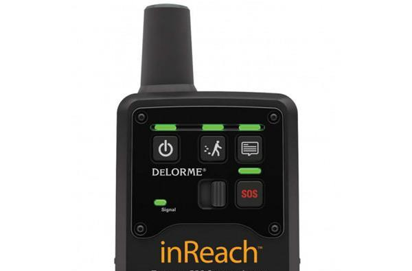 Delorme's inReach two-way GPS Communicator receives txts on mountains, teenage hikers rejoice