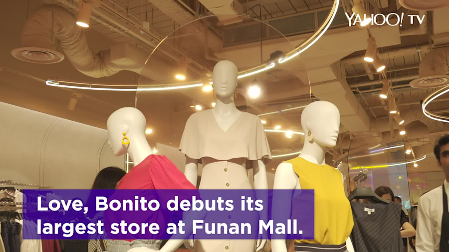 In Fashion: Love, Bonito opens third store at Funan Mall