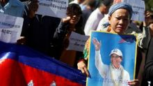 Forty-five countries urge Cambodia to conduct free vote, release opposition leader