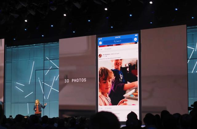Facebook users will be able to make normal photos look 3D